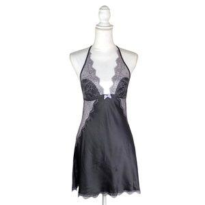 Victoria Secret Satin Lace Camisole Dress | M